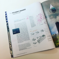 As a national student award recipient, the project had a dedicated page in Landscape Architecture Magazine (LAM) in the October 2018 issue