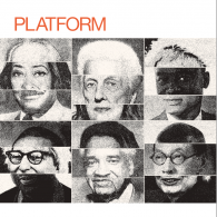 PLATFORM Cover with photos of architects and planners
