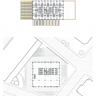 Ground Floor Plan and Typical Hotel Plan