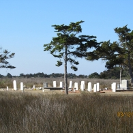 Historic Cemetery at Cape Lookout National Seashore