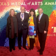 Michelle Addington, Stephen Harrigan, Craig Dykers, Elaine Molinar on Red Carpet