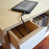 Analog Cabinet, Wood Design, Woodworking, Furniture Design