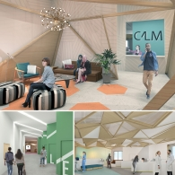 Design concept renderings by Katherine Kligerman, Taylor Mahnke, and Adina Schunicht