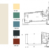 E.1027 Site Sample Collection and Color Palette