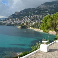 E.1027: From Rooftop, Looking at Roquebrune-Cap-Martin
