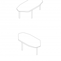 Beech Dining Table - Drawings