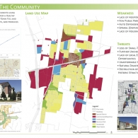 InDesign Hutto State of the Community Poster on paper stock 3'x6'