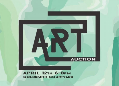 AIAS Art Auction - Wednesday, April 12 @ 6pm - Goldsmith Courtyard