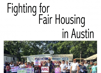 Fighting for Fair Housing in Austin