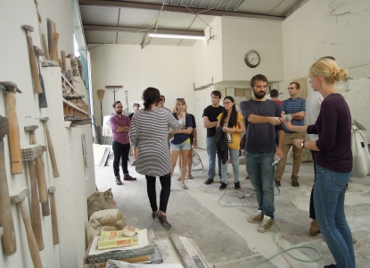 Kincannon Studio stone carving workshop
