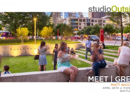 Studio Outside Meet & Greet - April 26 @ 11am - Battle 101