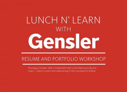 Gensler Portfolio & Resume Workshop