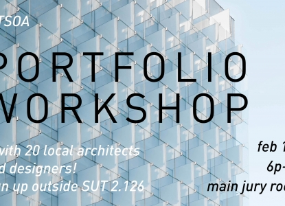 AIA Austin Portfolio Reviews - Wednesday, February 15 @ 6pm - Main Jury Rooom