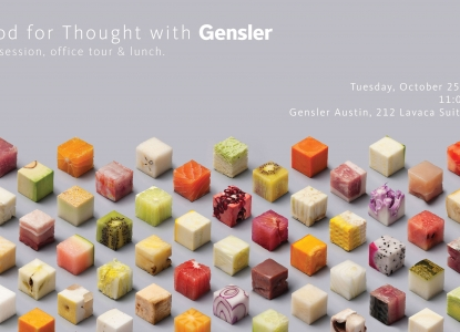 Gensler Firm Visit - Tuesday, October 25 at 11am
