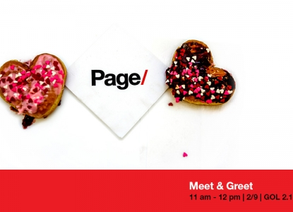 Page Meet & Greet - Tuesday, February 9 @ 11am