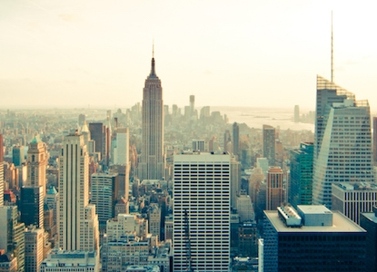 Stock photo of New York City skyline