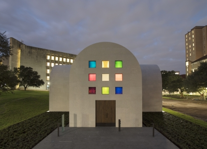 Ellsworth Kelly's Austin at the Blanton Museum of Art.