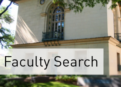 Faculty Search graphic