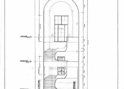 Longitudinal Section Drawing