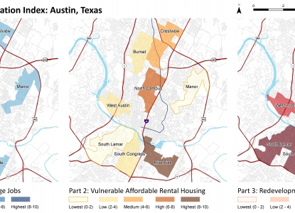 Austin Case Study Results Map