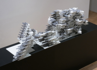 Large City Architecture - Maison Partino, physical model