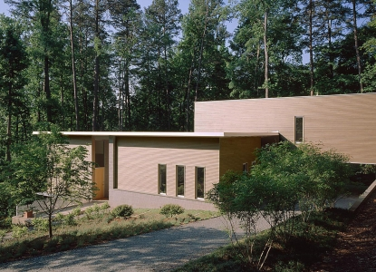 Webb Dotti Residence - North View | Gomes + Staub