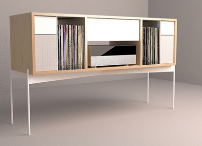 Analog Cabinet, Render, 3DS Max, VRay