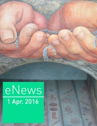 cover of eNews April 2016