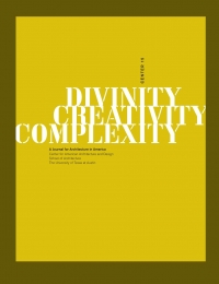 CENTER 15: Divinity, Creativity, Complexity cover