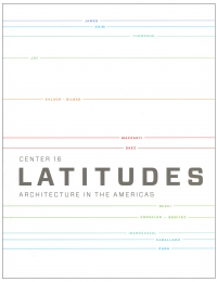 CENTER 16: LATITUDES cover
