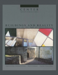 CENTER 4: Buildings and Reality: Architecture in the Age of Information  cover