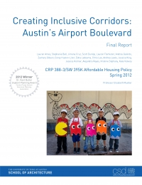 Creating Inclusive Corridors: Austin's Airport Boulevard cover
