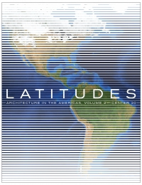 CENTER 20: Latitudes, Volume 2 cover