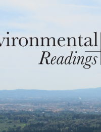 Environmental Readings cover