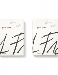 Josef Frank Writings Vol I & II cover