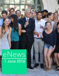 eNews June 2016 cover