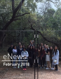 eNews February 2018 - Students at Tatiana Bilbao Weekend House