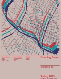 Planning Forum Volume 16 cover