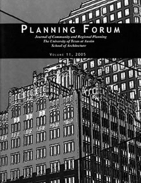 Planning Forum Volume 11 cover