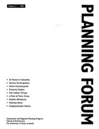 Planning Forum Volume 2 cover