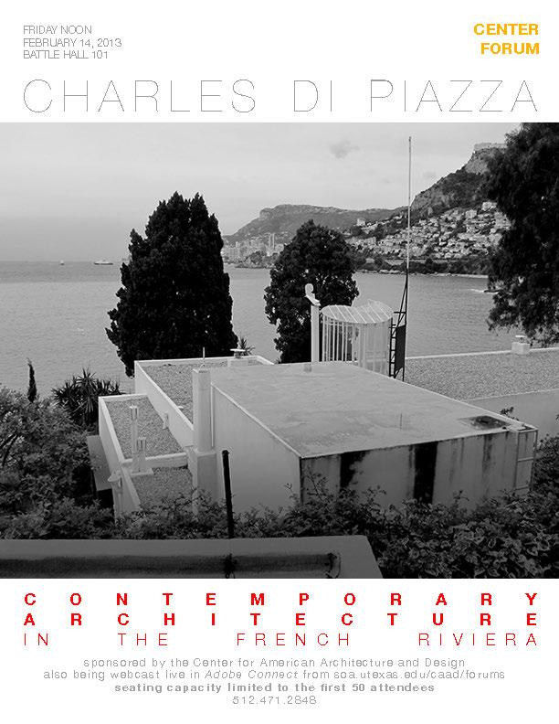 Charles Di Piazza - Contemporary Architecture in the French Riviera