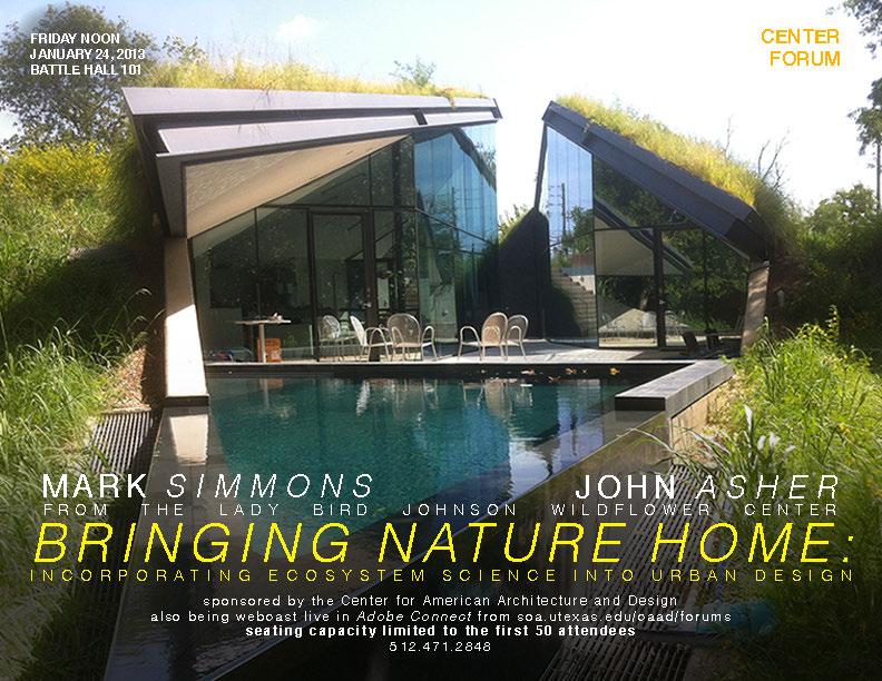 Mark Simmons and John Asher - Bringing Nature Home