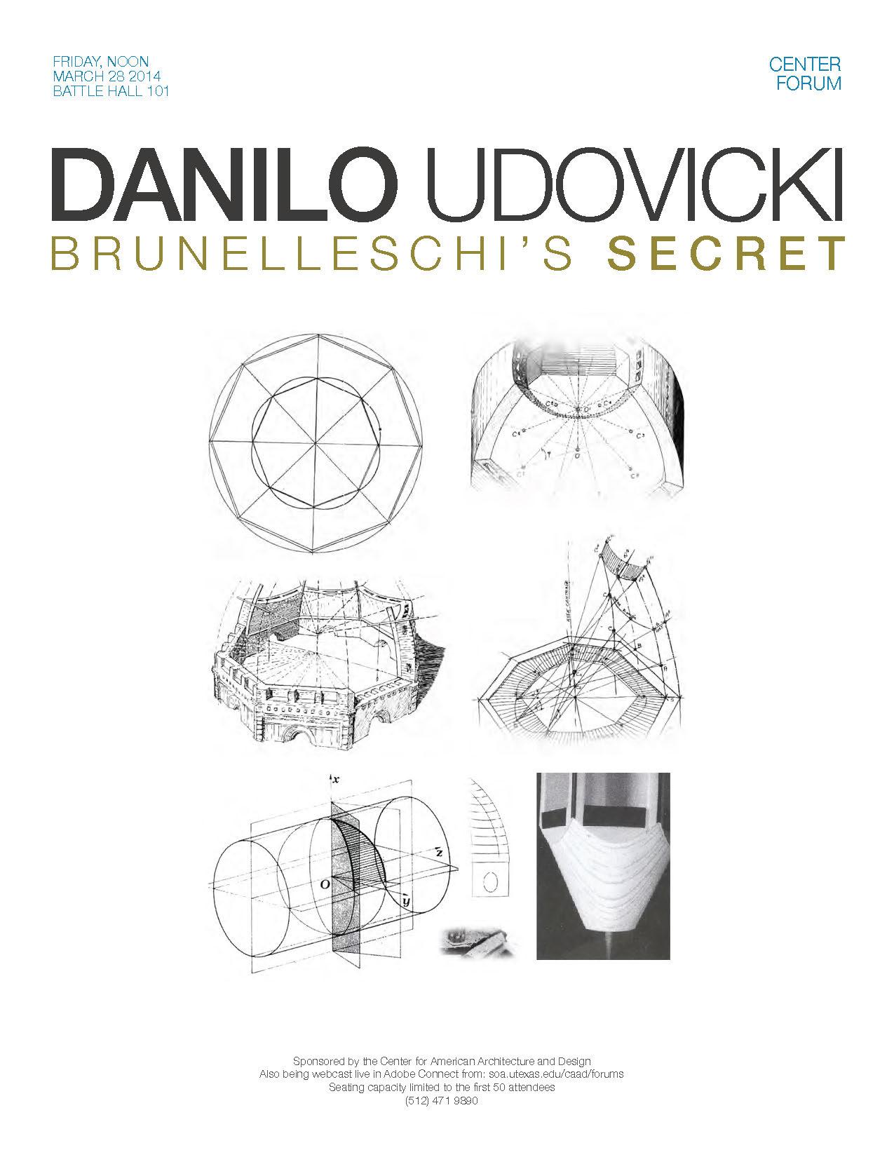 Danilo Udovicki - Brunelleschi's Secret