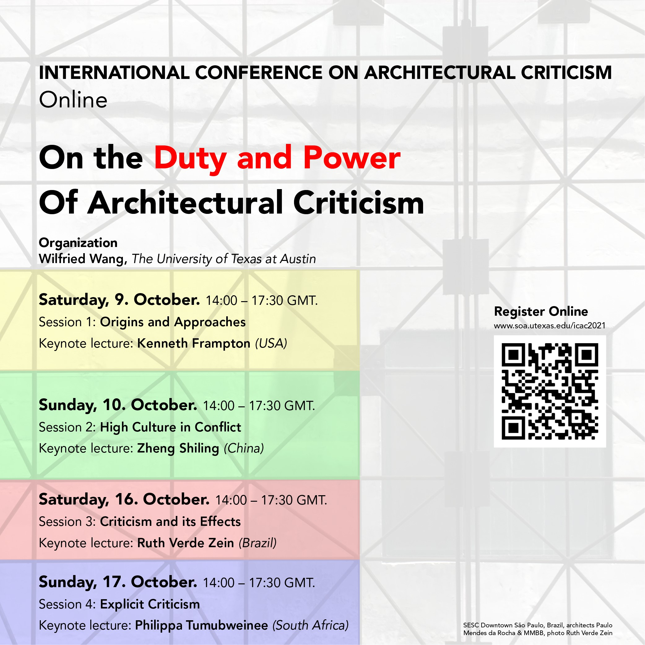 Overall On the Duty and Power of Architectural Criticism Poster