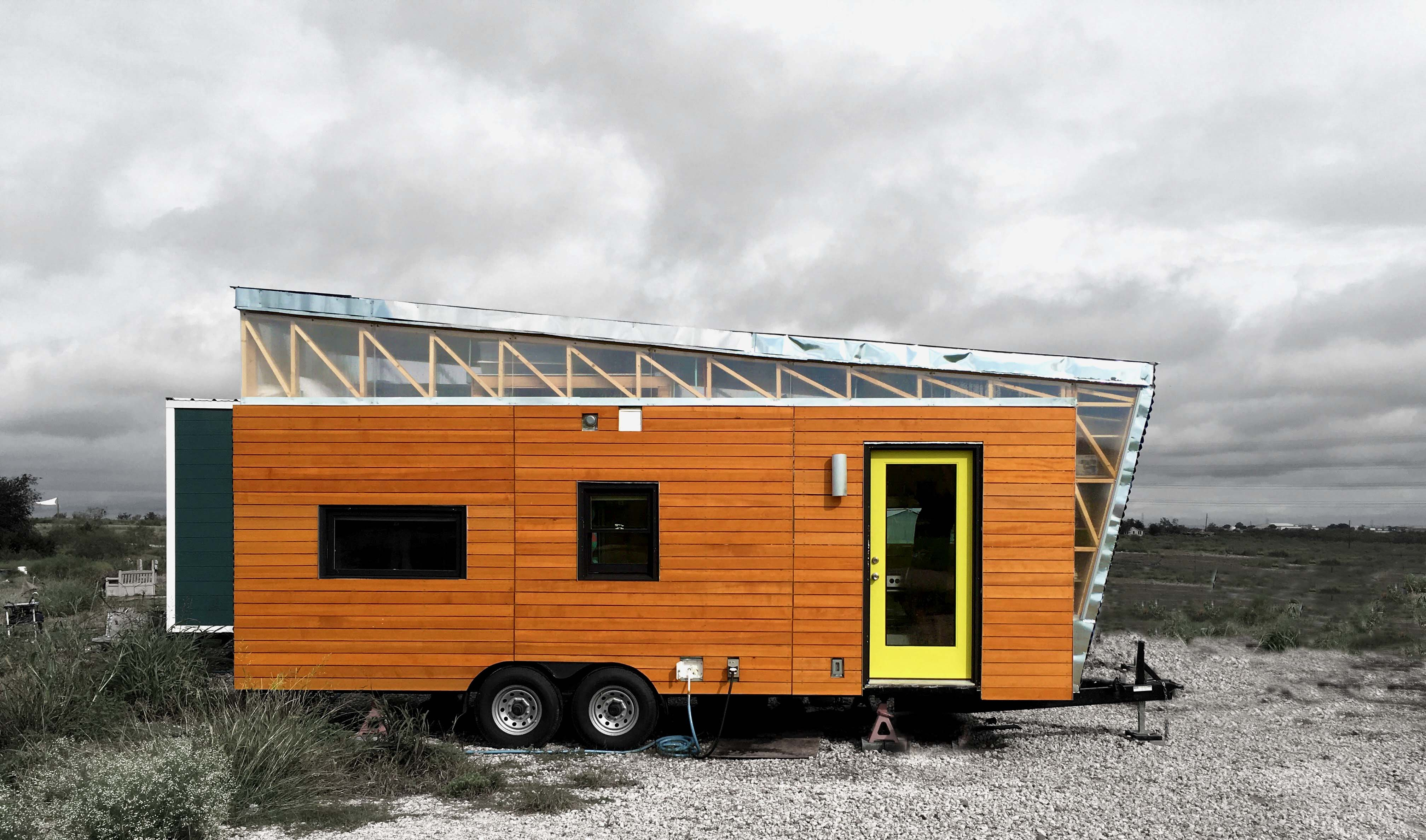 Tiny House Front Elevation