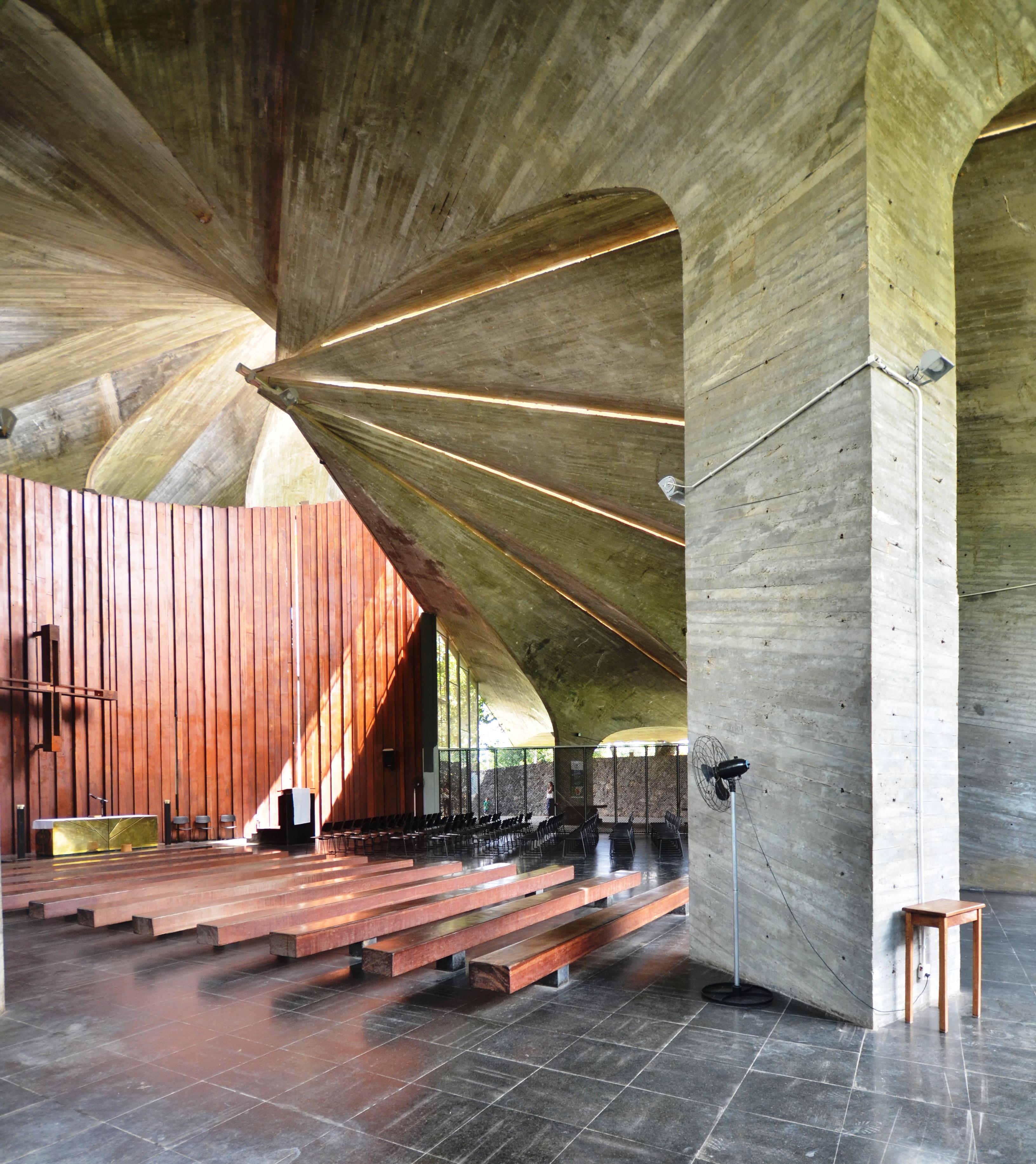 João Filgueiras Lima's Capela CEB project Salvador