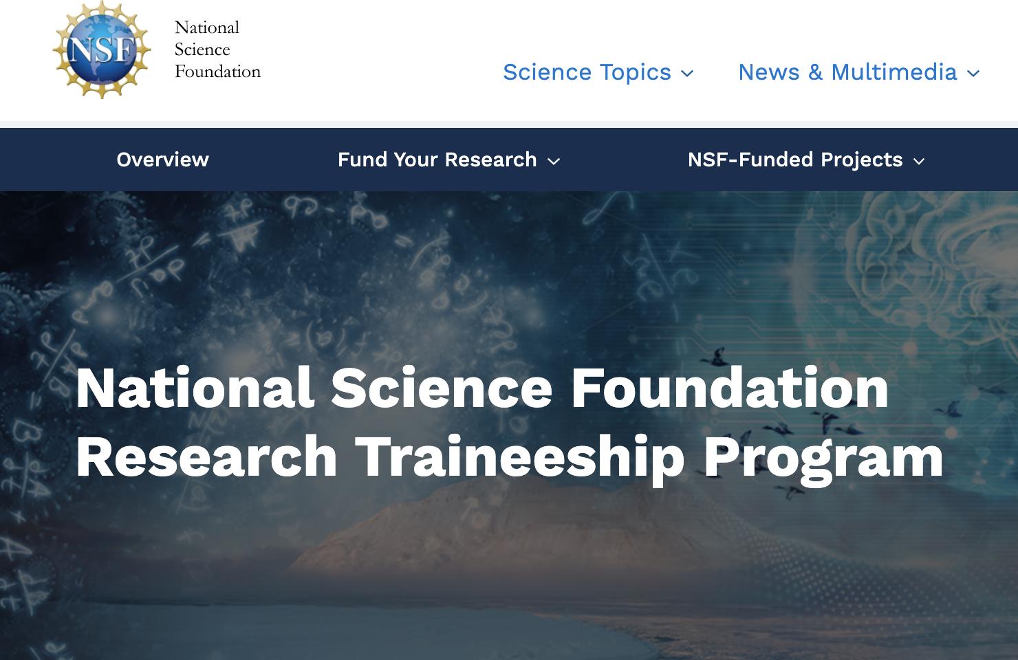 NSF NRT