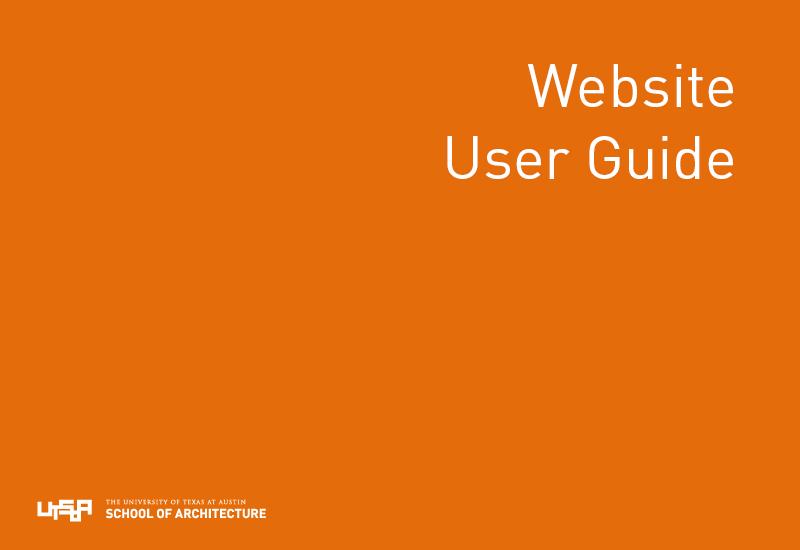 Website User Guide - Use Me