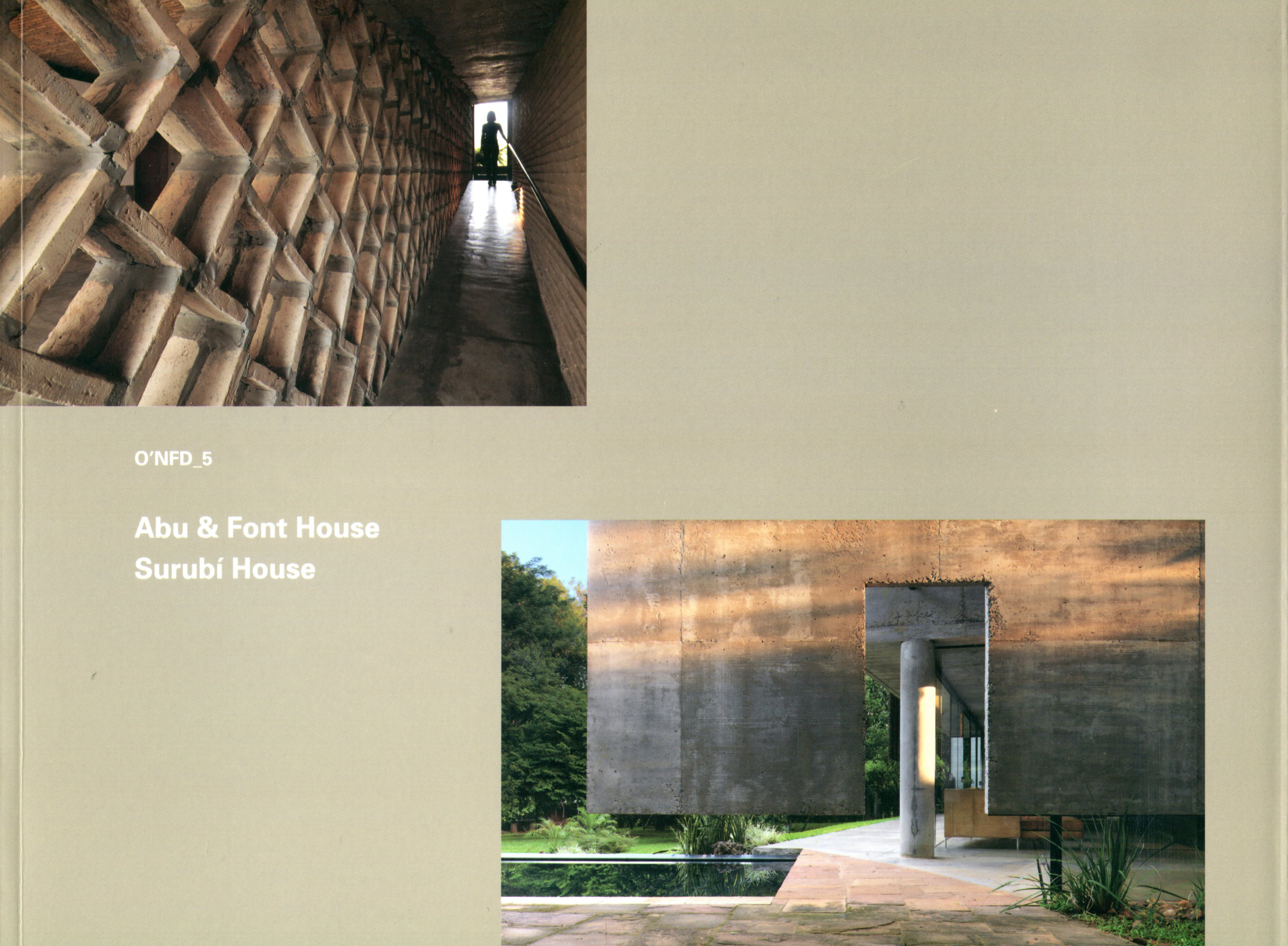O'Neil Ford Duograph Series, Volume 5: Paraguay, Abu and Font House, Surubi House cover