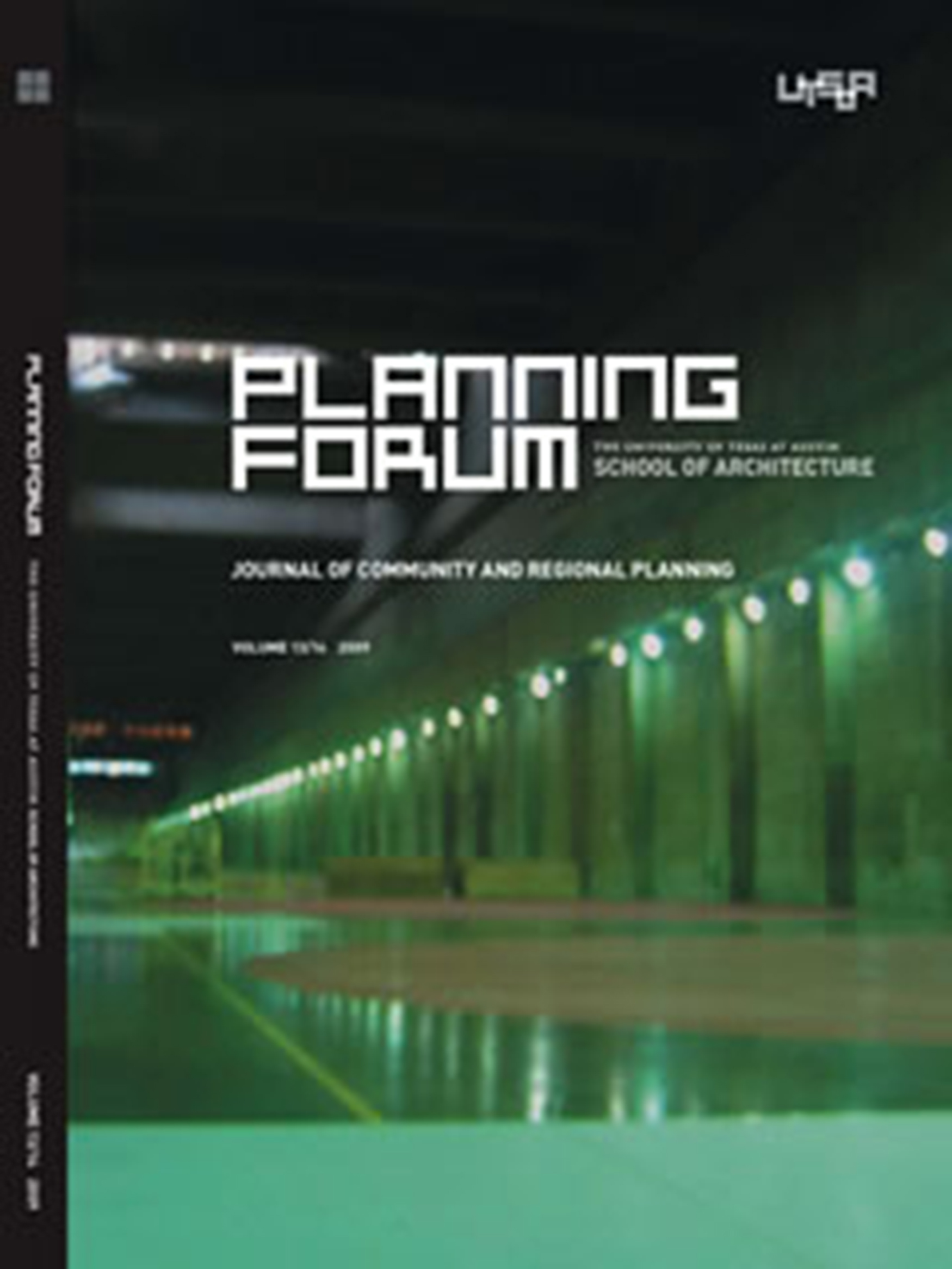 Planning Forum Volume 13-14 cover